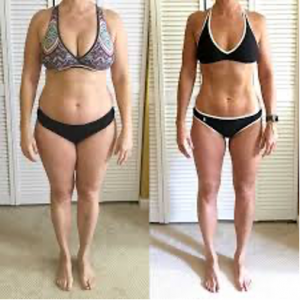 Weight loss results for women